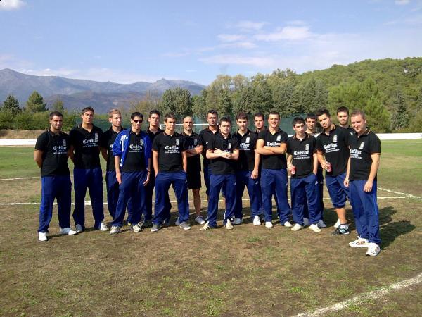 Jugadores del CD Cuéllar en la temporada 2009/10