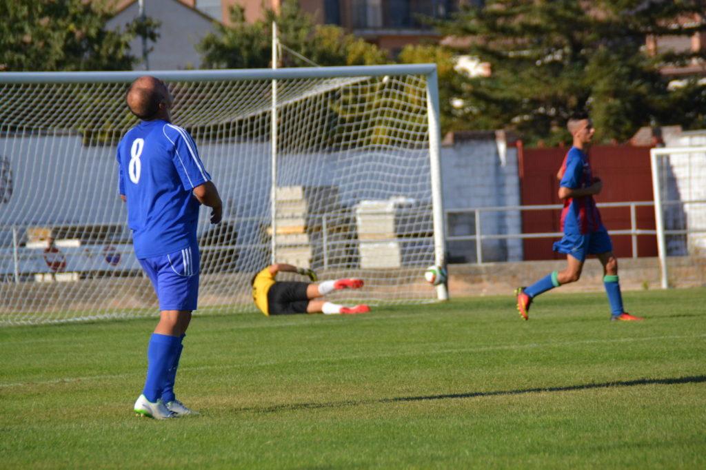 Karraka se lamenta del gol encajado